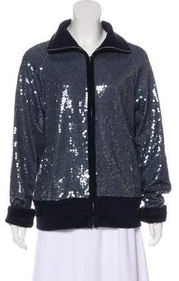 Chanel Sequined Track Jacket w/ Tags