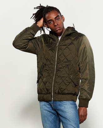G Star Raw Meefic Hybrid Hooded Overshirt