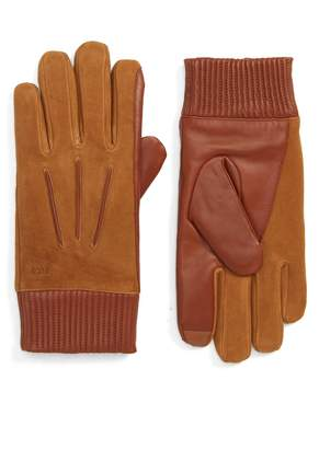 Polo Ralph Lauren Nappa Leather & Suede Gloves