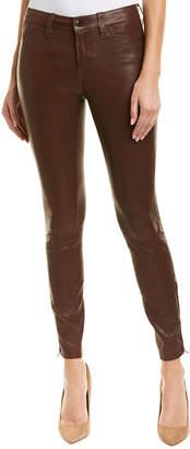 J Brand Botany Leather Skinny Leg