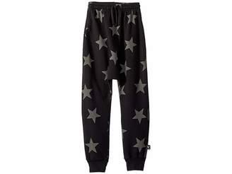 Nununu Star Baggy Pants (Little Kids/Big Kids)