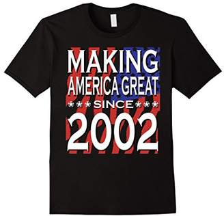 16th Birthday Vintage Made In 2002 Gift ideas T shirt