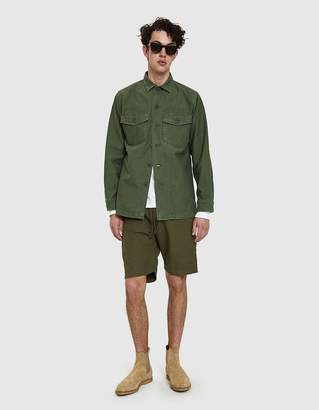 orSlow US Army Shirt in Green Used