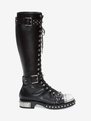 Alexander McQueen Hobnail Boot