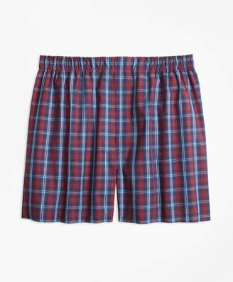 Brooks Brothers Traditional Fit Tartan Boxers
