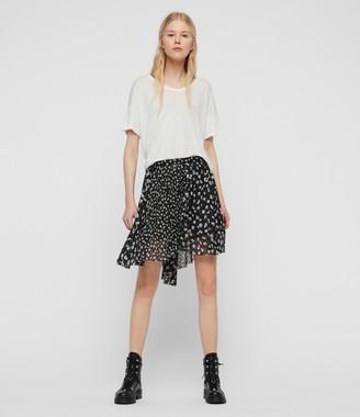 AllSaints Lea Scatter Skirt