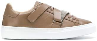 Fabiana Filippi embellished touch strap sneakers