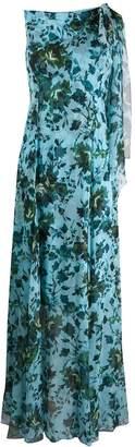 Erdem floral sleeveless long dress