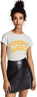 Pam & Gela Women's Neon Feminist Gangsta Basic Tee