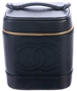 e31cc7ad8fa405 Chanel Caviar Timeless Vanity Case
