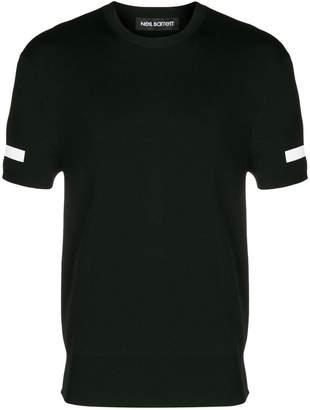 Neil Barrett short sleeved long T-shirt