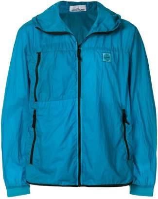 Stone Island packable zipped jacket