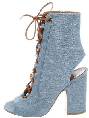 Laurence Dacade Denim Nelly Sandals w/ Tags
