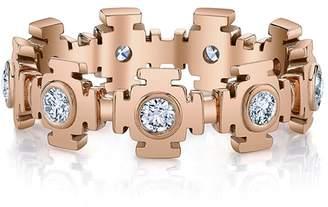 ARK Fine Jewelry Diamond Gateways Eternity Ring - Rose Gold