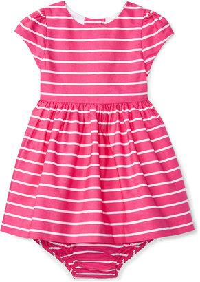 Ralph Lauren Striped Fit & Flare Dress, Baby Girls (0-24 months) $59.50 thestylecure.com