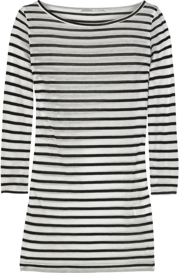 DAY Birger et Mikkelsen Striped Layer T-shirt