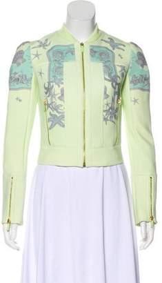 Versace Seashell Print Bomber Jacket w/ Tags