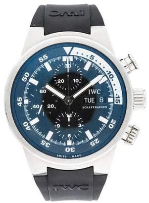 IWC Aquatimer Cousteau Chronograph Watch