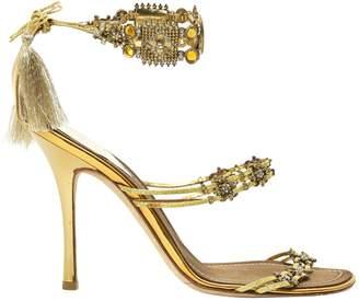 Rene Caovilla Patent leather sandals