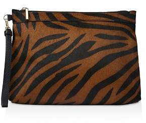 Whistles Chester Large Tiger Zip Pouch