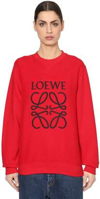 Loewe Logo Embroidered Knit Sweater