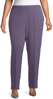 Alfred Dunner Smart Investements Classic Fit Pant - Plus