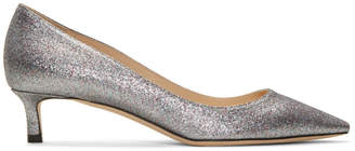 Jimmy Choo SSENSE Exclusive Multicolor Glitter Romy 40 Heels
