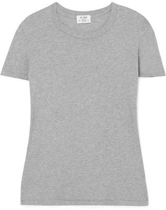 RE/DONE Hanes 1960s Cotton-jersey T-shirt - Gray