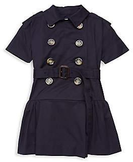 Burberry Little Girl's & Girl's Cynthie A-Line Shirtdress