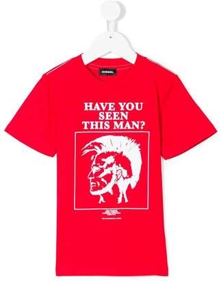 Diesel Mohawk logo print T-shirt