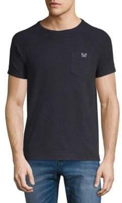 Scotch & Soda Tonal Fern Roundneck T-Shirt