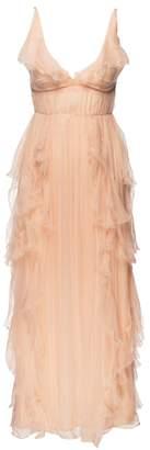 Love Sam Ruffle Maxi Dress
