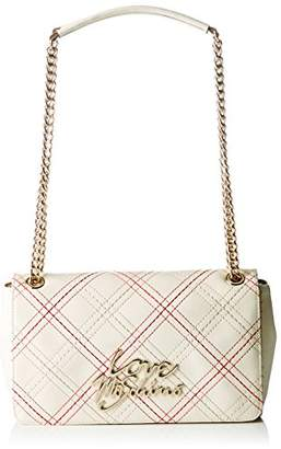 Love Moschino Moschino, Women's Shoulder Bag, Elfenbein (Ivory), (B x H T)
