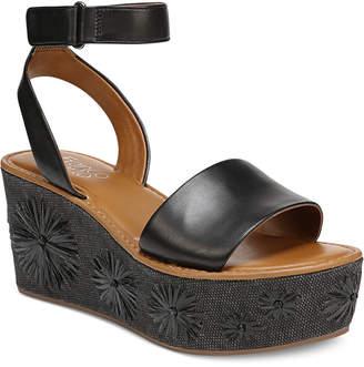 Franco Sarto Jovie Platform Wedge Sandals