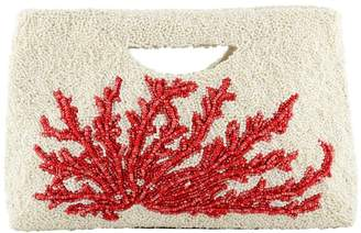 Tiana Designs Tiana Handle Red Coral Clutch