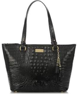 Brahmin Asher Embossed Leather Tote $265 thestylecure.com