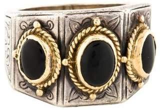 Konstantino Onyx Cocktail Ring