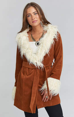 Show Me Your Mumu Penny Lane Coat ~ Sienna Corduroy