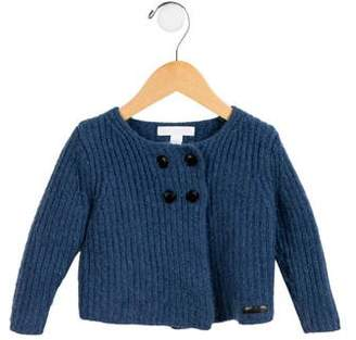 Burberry Girls' Cashmere Double-Breasted Cardigan