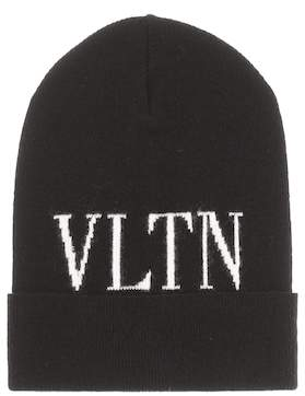 Valentino Wool and cashmere-blend beanie 1a6be9396b88
