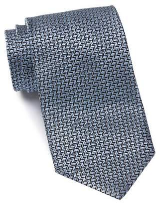Ermenegildo Zegna Silk Stripes Tie