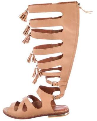 Rebecca Minkoff Leather Gladiator Sandals