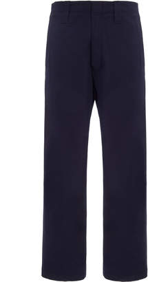 Acne Studios Astym High-Rise Cotton-Blend Flared Trousers