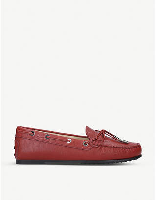Tod's Tods City Gommino leather loafers