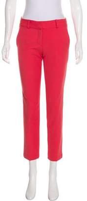 Waverly Grey Mid-Rise Straight-Leg Pants