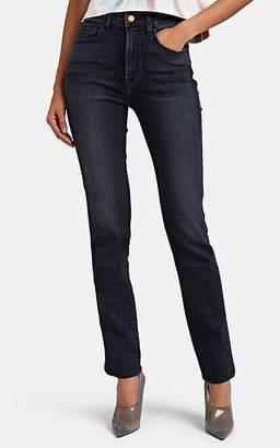 Jordache Women's Cuffed High-Rise Slim Jeans - Black