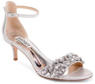 Badgley Mischka Women's Lara II Embellished High-Heel Sandals