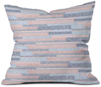 Deny Designs Pimlada Phuapradit Velveteen Stripes Throw Pillow
