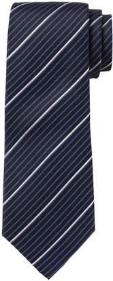 Banana Republic Coastal Stripe Silk Nanotex Tie