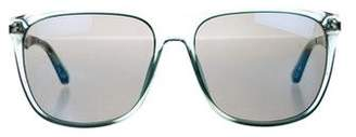 Marc by Marc Jacobs Mirrored Square Sunglasses